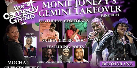 The Comedy Grinds Gemini Takeover tickets