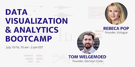 Data Visualization & Analytics Bootcamp tickets