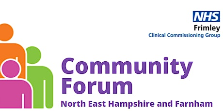 Virtual Community Forum May 2021 - North East Hampshire and Farnham tickets