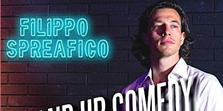 Stand-up Comedy in English w/ Filippo Spreafico bilhetes