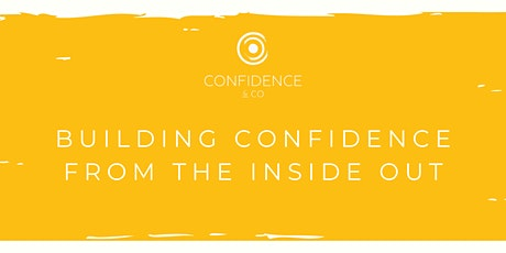 CONFIDENCE BUILDING COURSE tickets