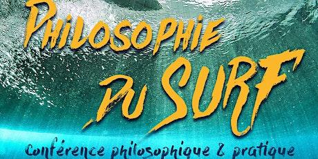 La philosophie du surf : conférence philosophique et pratique billets