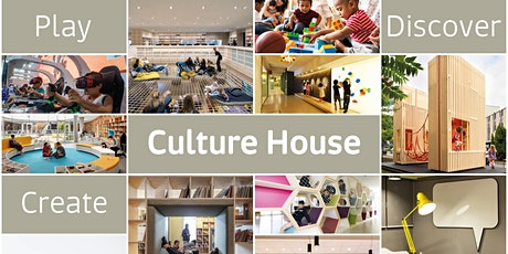 Culture House - Communities Libraries Workshop  8th June 5.30-6.30pm tickets