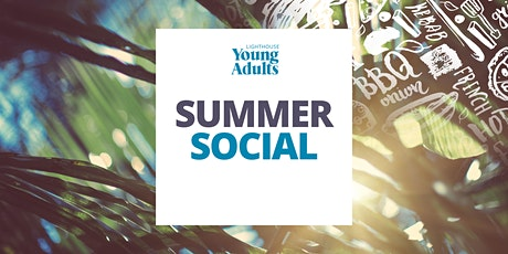 Young Adults  Summer Social tickets