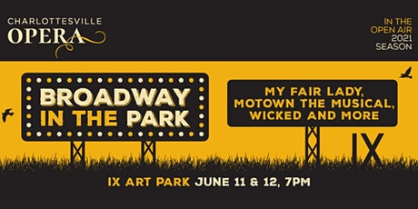 Broadway in the Park tickets