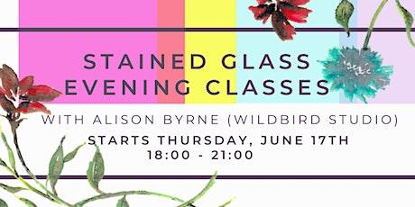 Stained Glass Evening Classes w/ WildBird Studio @ BLOCK T tickets