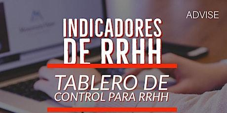 Curso: Indicadores de RRHH - Tablero de control para RRHH entradas