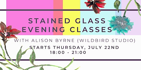 Stained Glass Evening Classes w/ WildBird Studio @ BLOCK T tickets