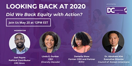 Looking Back at 2020: Did we back equity with action? tickets