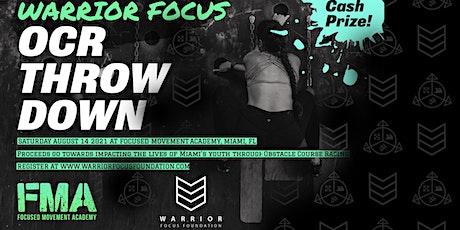 Warrior Focus OCR Throw Down tickets