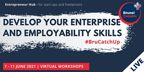 Develop your enterprise and employability skills | Full week registration tickets