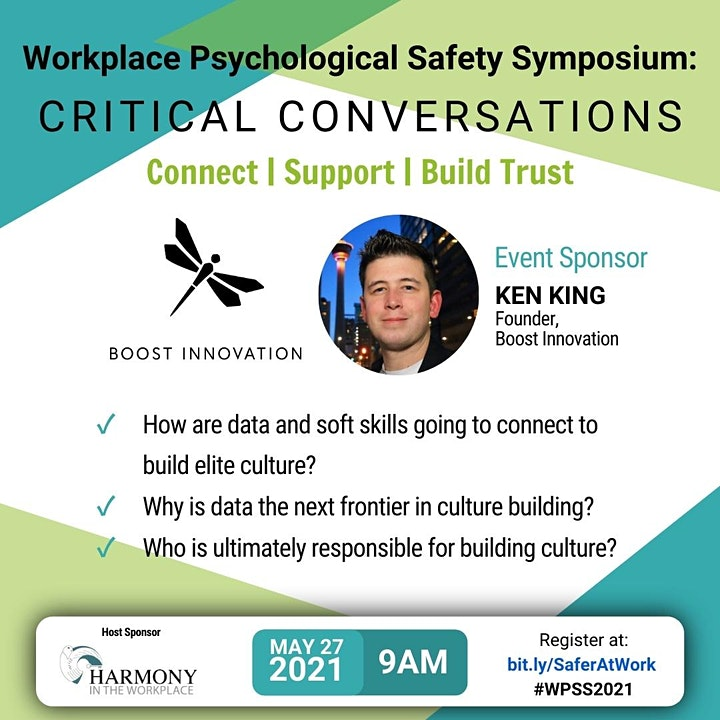 Workplace Psychological Safety Symposium:  Critical Conversations image