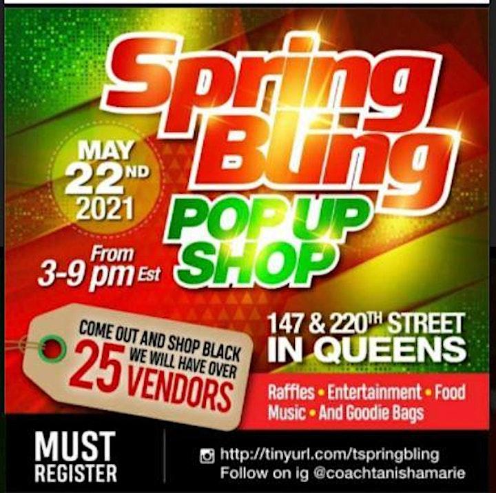 Spring Bling Pop up & Shop image
