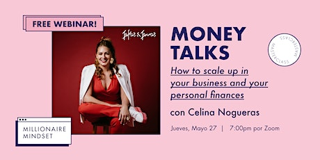 Webinar: How to scale up in your business and your personal finances? tickets