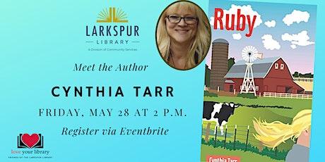 Meet the Author: Cynthia Tarr tickets