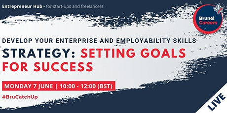 Strategy:Setting goals for success workshop tickets