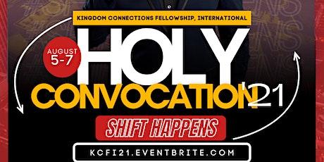 KCFI Holy Convocation'21 tickets