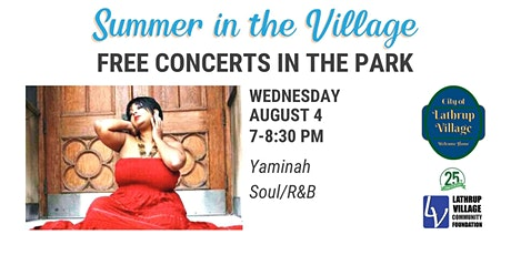 Summer in the Village Concert Series: Yaminah tickets