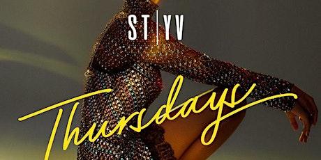 SAINT THURSDAYS at STYV Nightclub tickets
