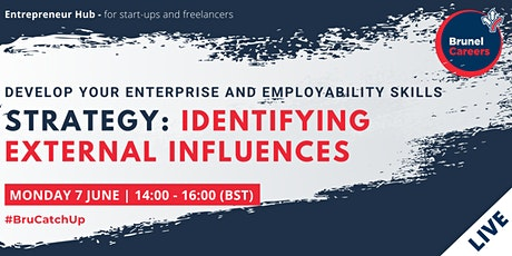 Strategy:Identifying external influences workshop tickets