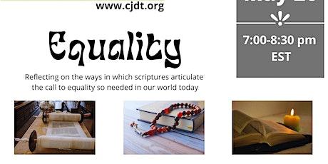 CJDT  Presents Equality in Scripture Interpretation tickets