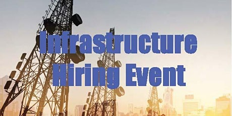 2021 Infrastructure  Virtual Hiring Event tickets