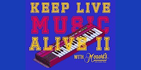 Keep Live Music Alive II (Singer-Songwriter Showcase) tickets