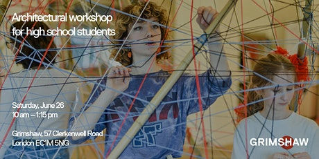 Architectural workshop for high school students tickets
