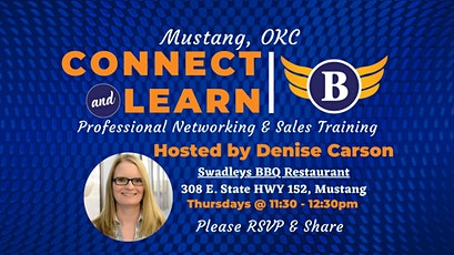 OK | Mustang Networking and Sales Training Luncheon tickets