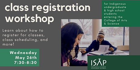 Class Registration Workshop tickets
