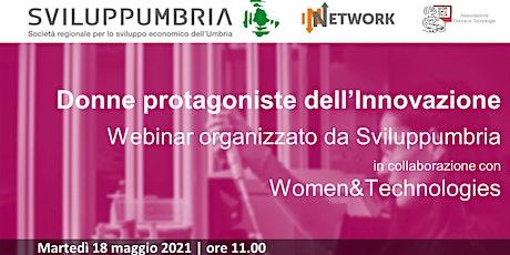 Donne protagoniste dell'Innovazione biglietti