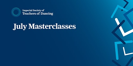 ISTD July Masterclasses tickets