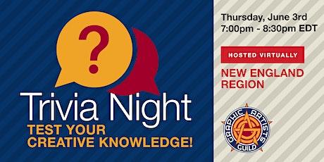 Creative Trivia Night tickets