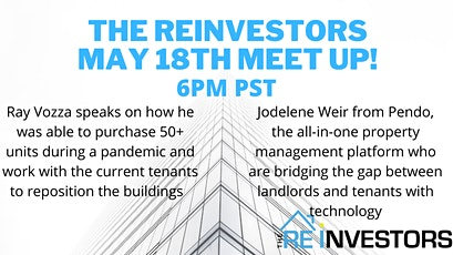 Online Meet Up for Canadian Real Estate Investors tickets