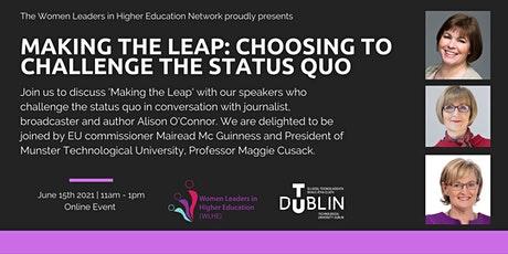 Making the Leap: Choosing to  Challenge the Status Quo tickets