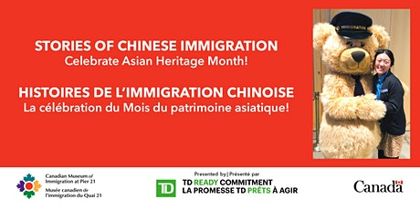 Stories of Chinese Immigration / Histoires de l'immigration chinoise tickets
