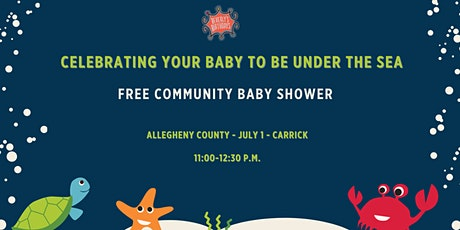 July 2021 Free Community Baby Shower - Carrick tickets