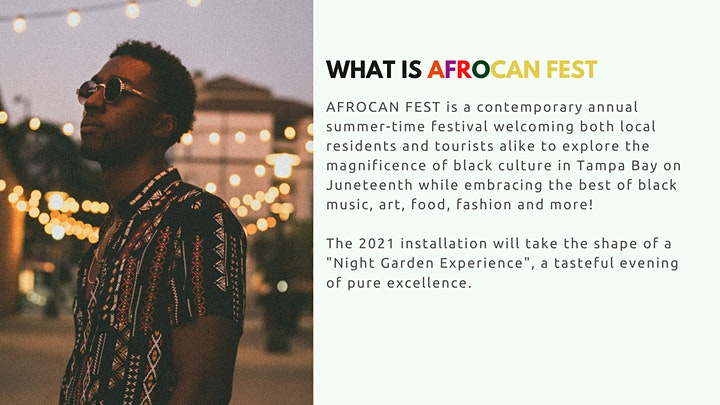AfroCAN Fest: Night Garden Experience image
