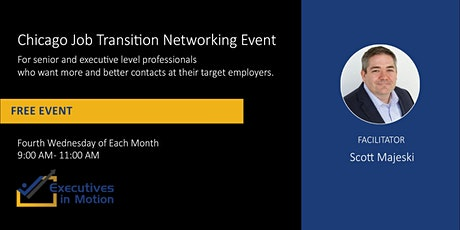 Executives In Motion (CHI) - Virtual Networking Event tickets