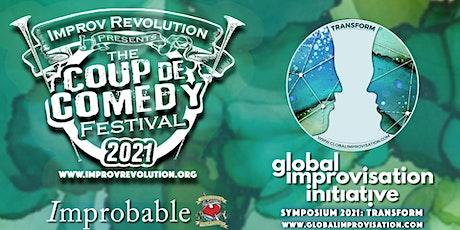 Coup de Comedy Festival | Global Improvisation Initiative Symposium 2021 tickets