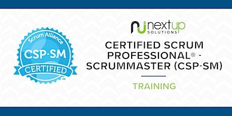 Certified Scrum Professional - ScrumMaster (CSP-SM) Training (Virtual) Tickets