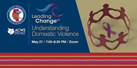 Leading ChangeTM: Understanding Domestic Violence tickets