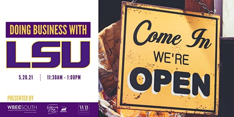 Doing Business With LSU tickets