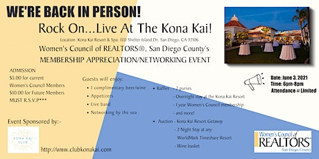 We're Back In Person ! Rock On...Live At The Kona Kai! tickets