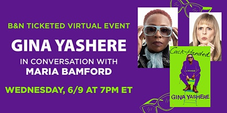 B&N Virtually Presents: Gina Yashere discusses CACK-HANDED! tickets