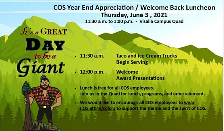 COS Year End Appreciation / Welcome Back Luncheon image