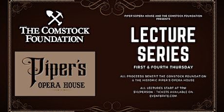 """Lecture Series: """"Charley Parkhurst - Infamous Comstock Stage Coach Driver"""" tickets"""