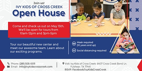 Ivy Kids Cross Creek Open House tickets