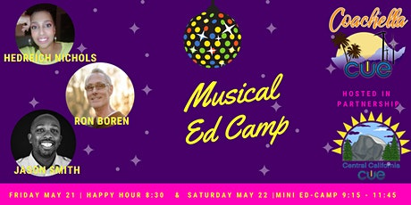 CC CUE & COACH CUE MUSICAL EDCAMP 2021 tickets