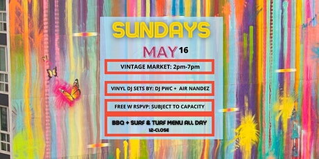 Vintage Market + Vinyl DJ Sets by DJ PWC & AIR NANDEZ boletos